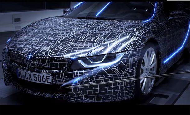 ค่อนข้างชัวร์! BMW เตรียมเปิดตัว i8 Roadster ปลายปีนี้