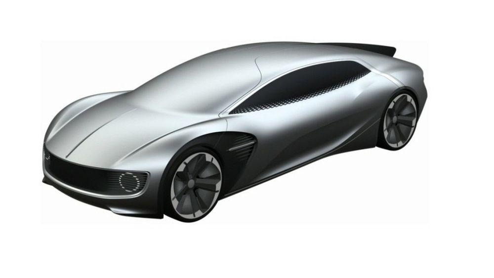 """ภาพสิทธิบัตรรถปริศนา คาดเป็น """"รถต้นแบบ Volkswagen"""" พลังงานไฟฟ้า"""