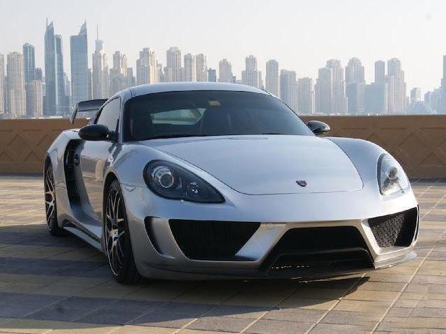 เข้าท่า Royal Custom สำนักแต่งรถดูไบ แต่งดุให้ Porsche Cayman  เพียง 3 คันเท่านั้น