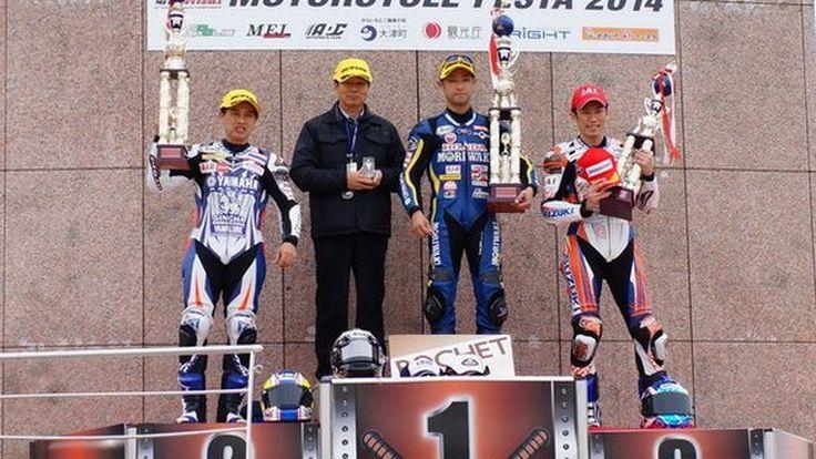 เดชา ไกรศาสตร์ นำ Yamaha Thailand Racing Team คว้ารองแชมป์ All Japan 2014