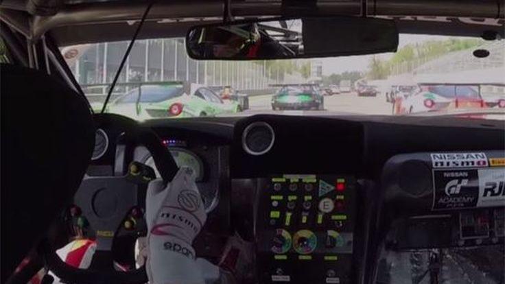 ชมคลิป เทพเกิน...  นักขับ Nissan GT-R ทีม GT Academy แซงรถ 18 คัน ในรอบเดียว ที่สนาม Monza