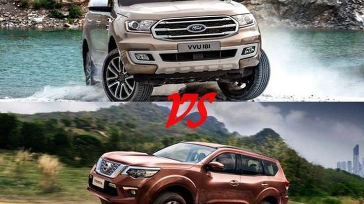 เทียบ 2 รุ่นที่ร้อนแรงสุด Nissan Terra VS Ford Everest
