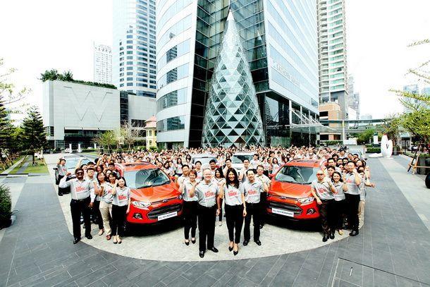 เปิดตัวอย่างเป็นทางการอีกครั้งกับ Ford EcoSport พร้อมเผยแพร่โฆษณา ผ่านสื่อวิทยุ โทรทัศน์
