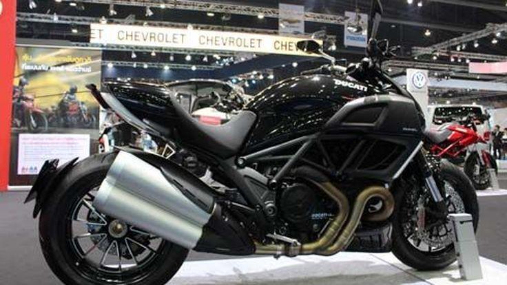 เปิดตัว Ducati Diavel มอเตอร์ไซค์สปอร์ตครุยเซอร์ ในงาน Bangkok Motor Show