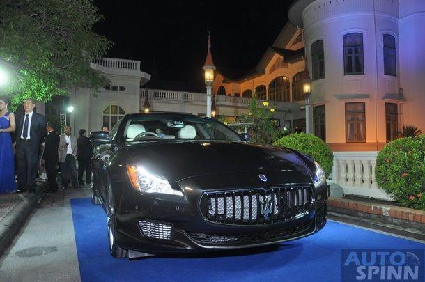 เปิดตัว Maserati Quattroprote เฉลิมฉลองก้าวเข้าสู่ปีที่ 99  ของ Maserati