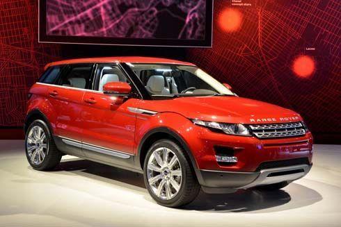 เปิดตัว Range Rover Evoque คอมแพคท์เอสยูวี เวอร์ชั่น 5 ประตูที่ LA Auto Show