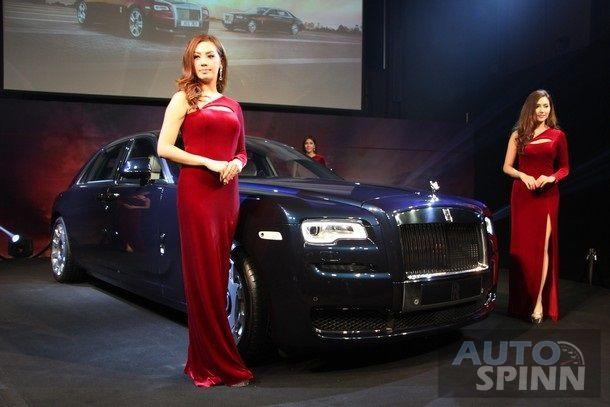 เปิดตัว Rolls-Royce Ghost Serie II ใหม่ครั้งแรกในไทย  ราคา 29.9 ล้านบาท