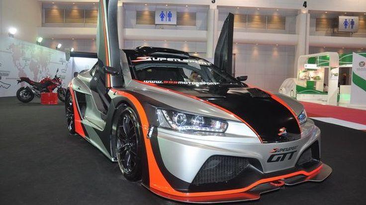 เปิดตัว Supersport รถแข่ง GT รายแรกรายเดียวในเอเชีย พุ่งเป้า 48 คันทั่วเอเชีย พร้อมจัดแข่ง