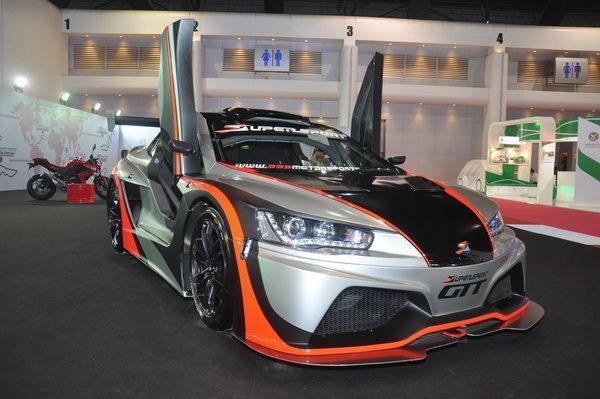 """เปิดตัว Supersport รถแข่ง GT รายแรกรายเดียวในเอเชีย พุ่งเป้า 48 คันทั่วเอเชีย พร้อมจัดแข่ง """"Supersport Series"""" ปี 2014"""