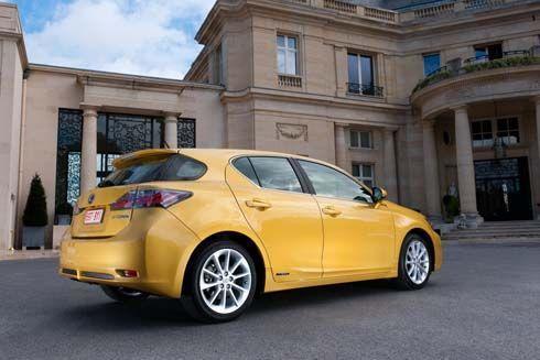 เปิดราคา Lexus CT-200h เวอร์ชั่นอเมริกา แฮ็ทช์แบ็คไฮบริด 5 ประตู ถูกสุดในตระกูล Lexus