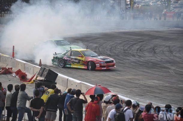เปิดศึก Formula Drift Asia Series 2014  Battle สุดมันส์ คนไทยขึ้นโพเดี่ยม 2