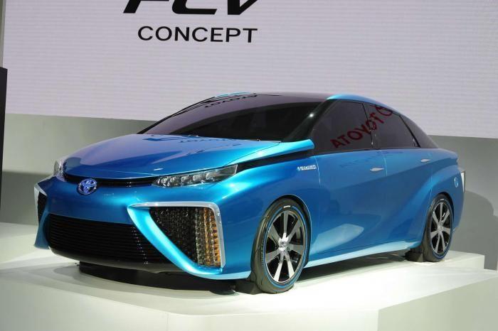 เผยโฉมรถต้นแบบ Toyota FCV Concept ที่ Tokyo Motor Show 2013  วางขายจริงปี 2015