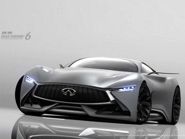 เผยโฉมรถแข่ง Concept   Infiniti Vision GT  พร้อมขับแล้วในเกม GT6