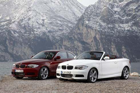 เผยโฉม BMW Series 1 Coupe และ Convertible รุ่นปี 2011 ก่อนเปิดตัวที่ดีทรอยต์