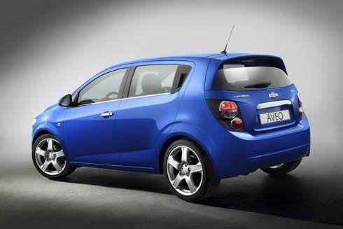 เผยโฉม Chevrolet Aveo Hatchback รุ่นปี 2011-2012 เตรียมออกงานที่ Paris Motor Show