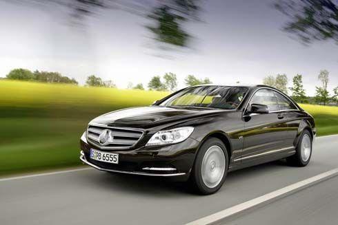 เผยโฉม Mercedes-Benz CL-Class คูเป้หรู รุ่นปี 2011 กับเครื่องยนต์ V8 ใหม่ + ระบบ BlueDIRECT