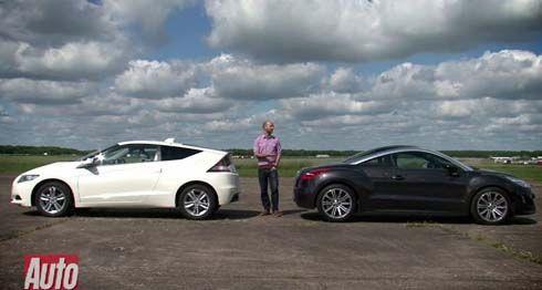 เสือพบสิงห์ Honda CR-Z vs. Peugeot RCZ ขับทดสอบโดย AutoExpress คันไหนคุ้มค่ากว่ากัน?!