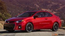 แค่คิดก็เท่ห์แล้ว  Toyota Corolla Coupe