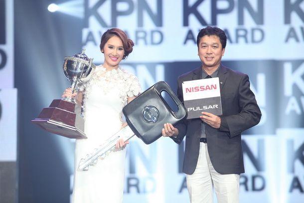 แชมป์ KPN หญิงคนแรก  คว้าถ้วยพระราชทานพร้อมรถยนต์ Nissan Pulsar ไปครอง