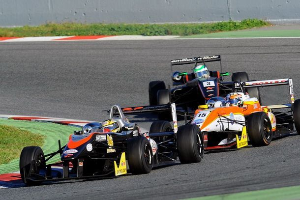 แซนดี้ ลุยมันส์ ในสนามสุดท้าย F3 ที่สเปน  ปิดฉากด้วยการประท้วงตำแหน่งแชมป์ของฤดูกาล