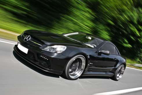 แต่งแล้วจน Mercedes-Benz SL63 AMG Black Saphir รถแต่งในราคาไม่ง้อลูกค้าจาก Inden Design