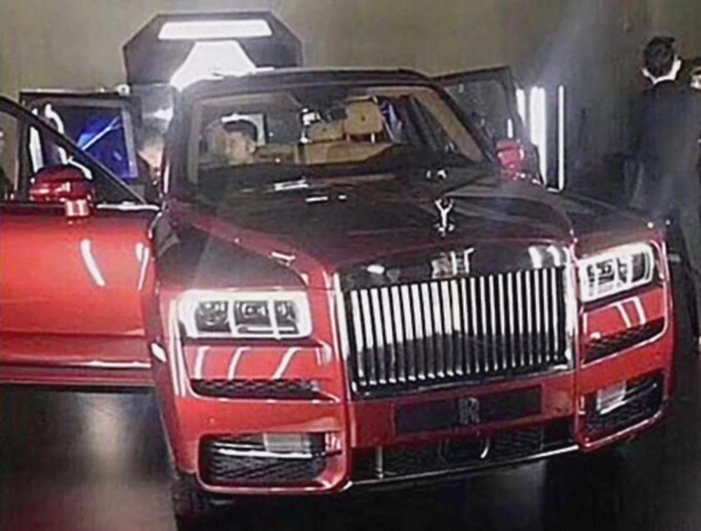 แอบส่อง Rolls-Royce Cullinan ก่อนเปิดตัว