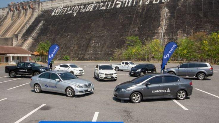 โช๊คอัพSACHSเทคโนโลยีจากประเทศเยอรมนี สู่รถญี่ปุ่น