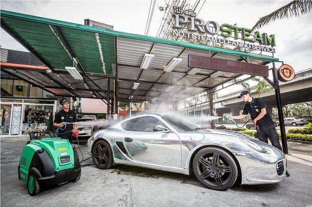 โปรสตรีมลุยเทคโนโลยีล้างรถด้วยไอน้ำรายแรกในไทย