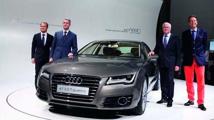 ใหม่ Audi A7 Sportback สปอร์ตซาลูนคู่แข่ง CLS และ Series 5 GT เผยโฉมก่อนเปิดตัวจันทร์นี้