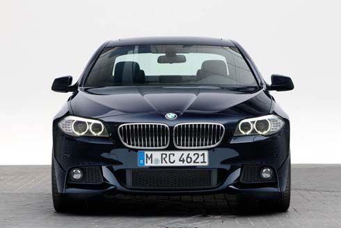 ใหม่ BMW M Sports ชุดแต่งสไตล์สปอร์ทสำหรับ Series 5 Sedan และ Touring รุ่นปี 2011