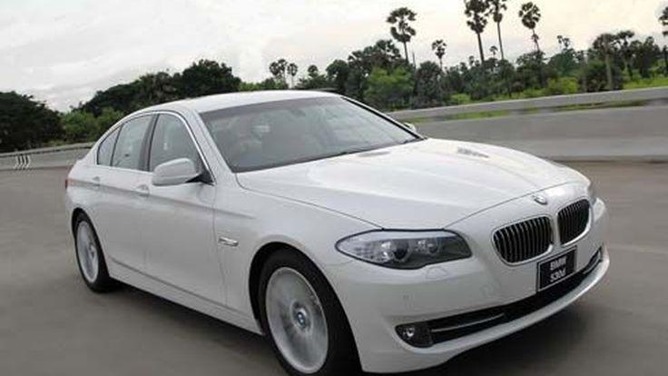 ใหม่ BMW Series 5 เวอร์ชั่นไทย 535i และ 530d เผยโฉมพร้อมเปิดราคา ก่อนเปิดตัวที่ BMW Xpo 2010
