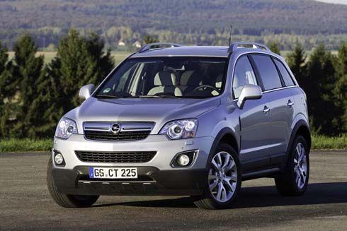 ใหม่ Opel Antara ปี 2011 คู่ซี้ Chevrolet Captiva แต่งหน้าทาปากรอฤกษ์จำหน่าย