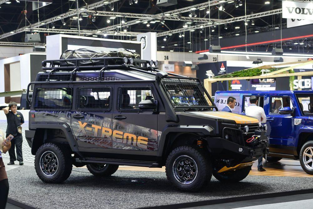 """[Motor Expo]""""ไทยรุ่ง"""" โชว์รถเอนกประสงค์สายพันธุ์ไทย TR TRANSFORMER II ตกแต่งพิเศษ 3 รุ่น 3 สไตล์"""