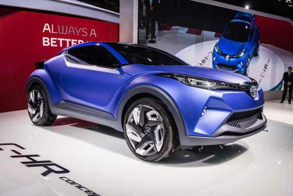 PARIS 2014: Toyota ส่งสองรถต้นแบบ C-HR Concept และ FCS โชว์ที่ปารีส
