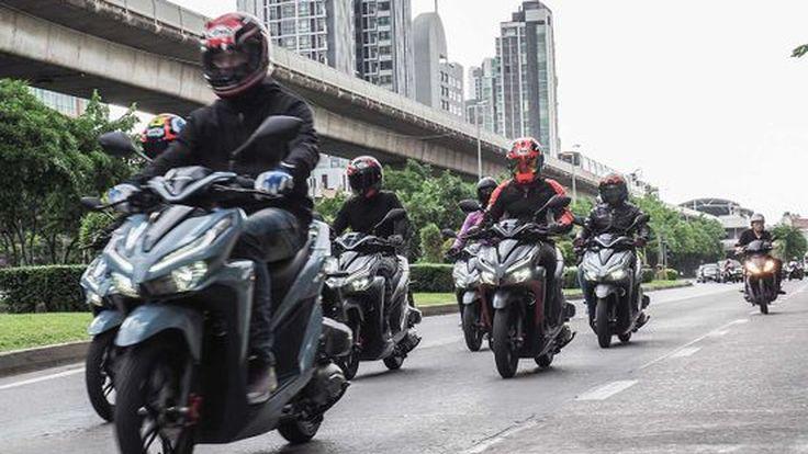 Honda New Click 150i สปอร์ตเมติก ตอบโจทย์ทุกชีวิตคนเมือง