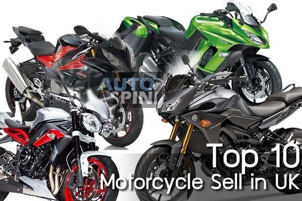10 อันดับรถจักรยานยนต์ที่ขายดีที่สุดในสหราชอาณาจักร ทุกคันล้วนมีในไทย
