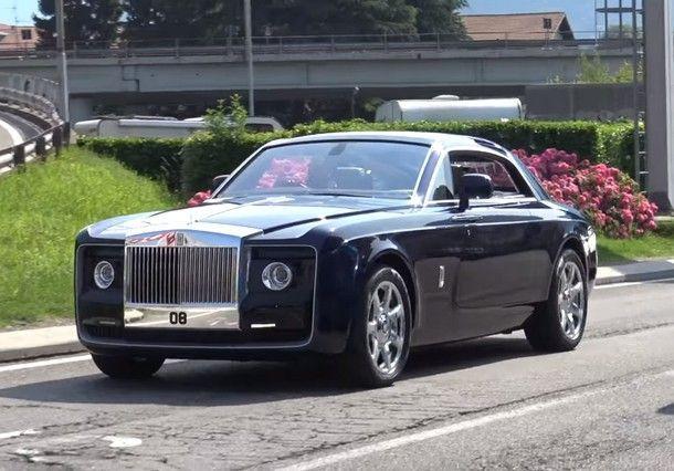 Rolls-Royce Sweptail สุดยอดยนตกรรมหรูกับค่าตัว 12.8 ล้านเหรียญ หรือราวๆ 435 ล้านบาท นี่ยังไม่รวมภาษีไทยนะ !!