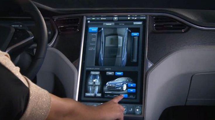 ใหญ่ได้อีก Tesla โชว์หน้าจอแสดงผลขนาด 17 นิ้วในห้องโดยสารของ Model S