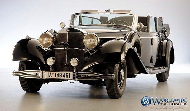 """เปิดประมูล 1939 Mercedes-Benz Grosser ของ """"อดอล์ฟ ฮิตเลอร์"""""""