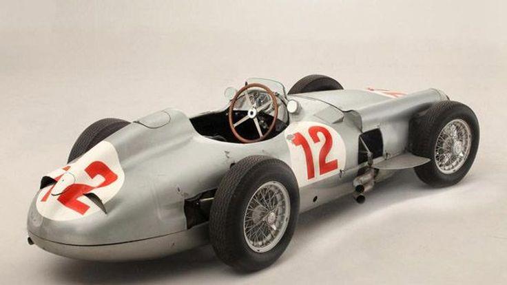อึ้ง! รถแข่ง 1954 Mercedes-Benz W196R Formula 1 เคาะราคาขาย 922 ล้านบาท