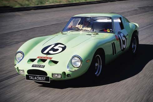 Ferrari 250 GTO รุ่นปี 1962 ซุปเปอร์คาร์สีเขียวอ่อนคันนี้ ราคา 1,050 ล้านบาท!