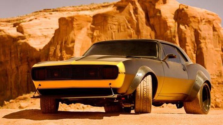 """มาแล้ว """"Bumblebee"""" ในมาดรถคลาสสิก 1967 Camaro SS จ่ออวดโฉมใน """"Transformers 4"""""""