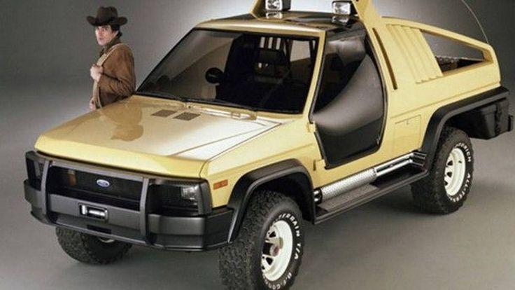 Ford Bronco Montana Lobo คอนเซปต์รถตรวจการณ์ที่ถูกลืม หลังจากเคยเปิดตัวในปี 1981