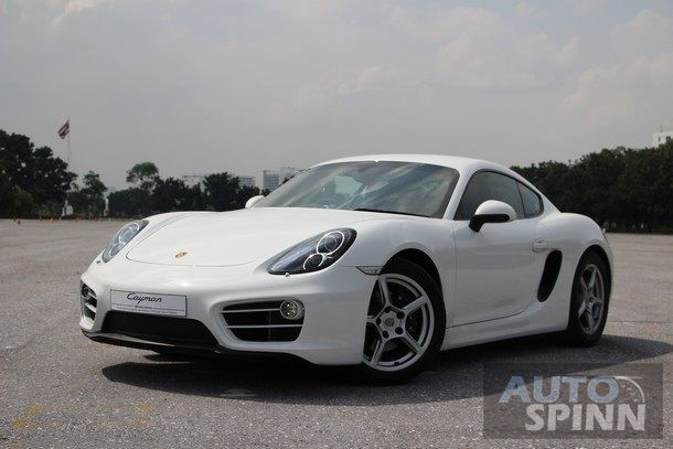 1st Impression ลองขับ  Porsche Cayman ใหม่  ภายใต้นิยาม Code of the Curve