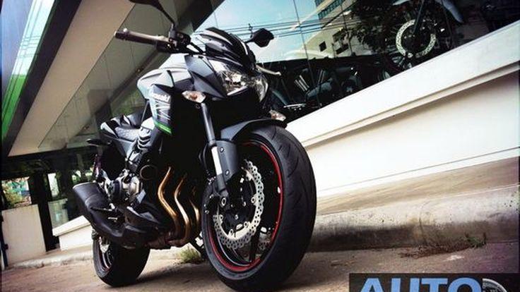 1st Ride  ขำๆ ขี่รีวิว Kawasaki Z800 วันแรก   (เตรียมพบรีวิว  เดือนหน้า)