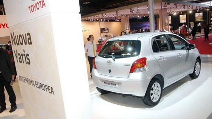 2009 Toyota Yaris แต่งหน้าใหม่ เปิดตัวที่ Bologna Motor Show