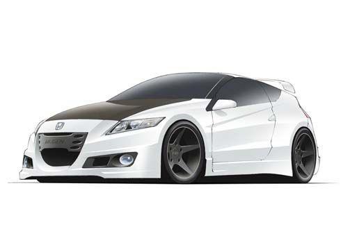 Honda CR-Z Mugen สปอร์ตคูเป้ไฮบริดแต่ง มีนัดโชว์ตัวที่ Goodwood Festival of Speed