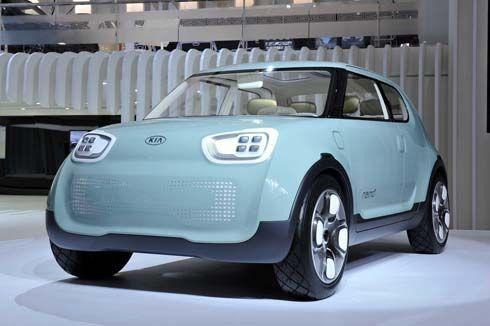 เปิดตัว Kia Naimo Concept รถไฟฟ้าทรงเหลี่ยมที่ Seoul Motor Show 2011