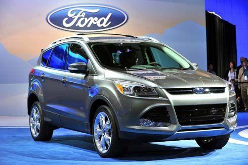 ใหม่ All-New Ford Escape รุ่นปี 2013 เปิดตัวแล้วที่งาน 2011 LA Auto Show