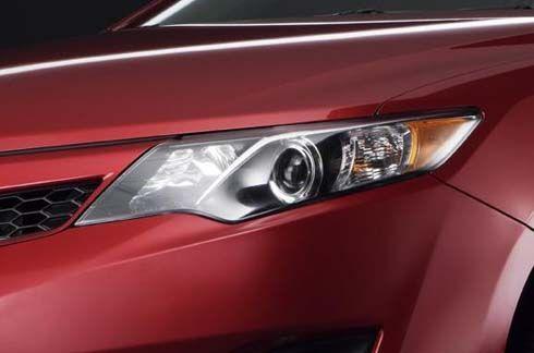 All-New Toyota Camry โฉมปี 2012 เวอร์ชั่นมะกัน โชว์ไฟหน้า ภาพผ่านทีเซอร์